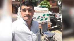 Futbolista se gana más aplausos en ambulancia que en la cancha