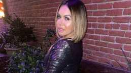 Al estar bailando reggaetón, Chiquis sufre una leve caída