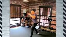 Oscar de la Hoya se entrena para su regreso al ring