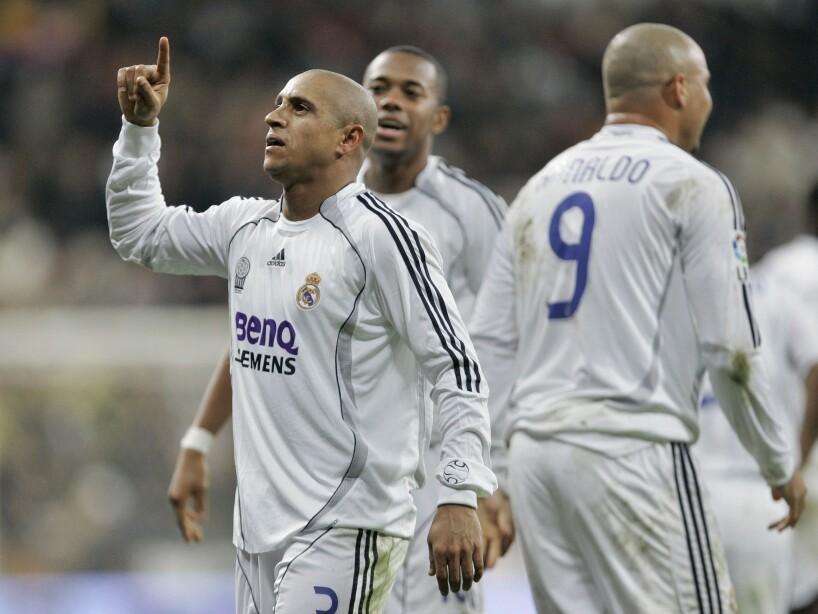 Roberto Carlos, Ronaldo, Robinho