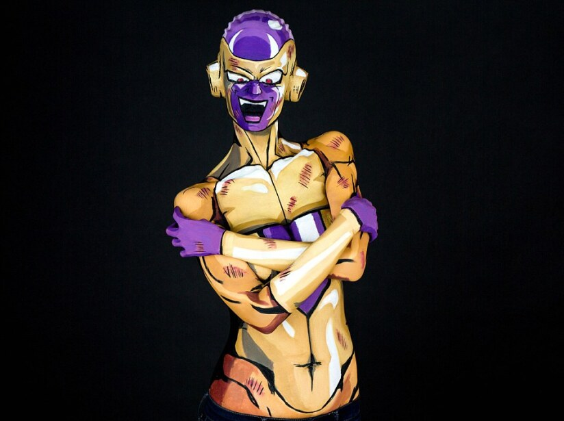Bodypaint Dragon Ball