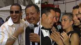Daddy Yankee, Kabah y otros cantantes que Sammy entrevistó en un show musical