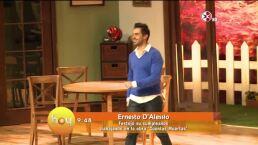 Ernesto DAlessio en Cuentas muertas
