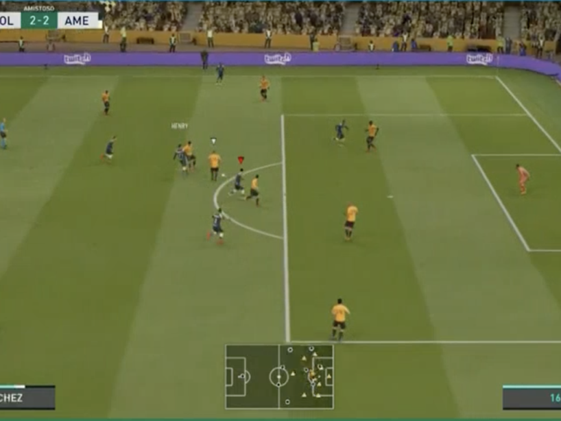 eAmistosos, Wolves vs América, 12.png