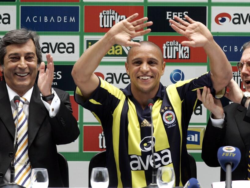 Murat Ozaydinli, Roberto Carlos, Aziz Yildirim