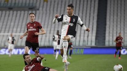 Juventus logra su pase a la final de la Copa de Italia | El empate a cero ante Milan fue suficiente para el equipo de Cristiano Ronaldo avance a la final de la justa.