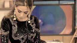 Galilea Montijo, sexy en ajustado vestido negro