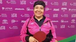 Llegó el primer oro Parapanamericano para México en Lima 2019