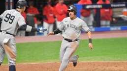 Barre Yankees a Indians y avanza en Playoffs de la MLB