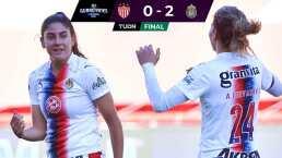 Chivas gana y avanza en la tabla de la Liga BBVA MX Femenil