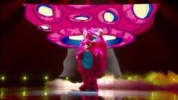 """Monstruo canta """"1, 2, 3"""" en ¿Quién es la Máscara?"""