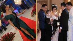 Video: Gomita ventila los divertidos momentos que no se vieron en la boda de Edwin Luna y Kimberly Flores