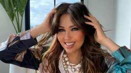 Thalía se burla de los rumores sobre no tener costillas y responde como si fuera una telenovela dramática