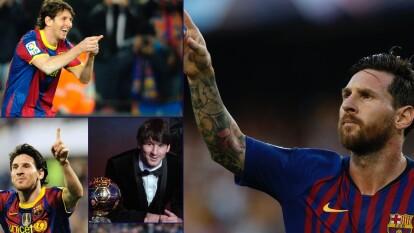 El 16 de octubre del 2004, Lionel Messi debutaba con el Barcelona en partido de La Liga, en un Derby contra el Espanyol. Con 17 años salió a la cancha en el minuto 84.