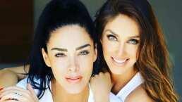 Anahí y su hermana, Marichelo, cantaron a dueto 'Sálvame' y sus fans quedaron encantados