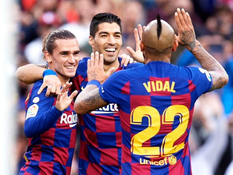 Vidal y Griezmann