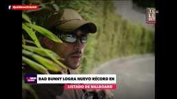 Bad Bunny logra nuevo récord en la lista de Billboard