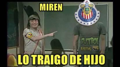 ¡Los memes no perdonaron a las Chivas! | Las redes sociales acabaron con el Rebaño tras caer en el Clásico Nacional.