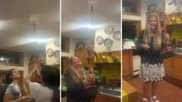 Video: Niurka recuerda la vez en la que sus hijos le jugaron una broma y le dejaron caer un recipiente con agua encima