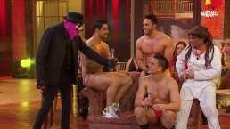El Kompayaso le da lecciones de sensualidad a stripers