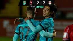 Liverpool aplasta al Lincoln City y se medirá ante el Arsenal