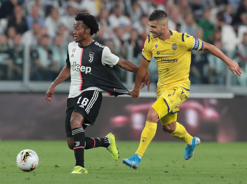 Juventus derrota en casa a Hellas Verona