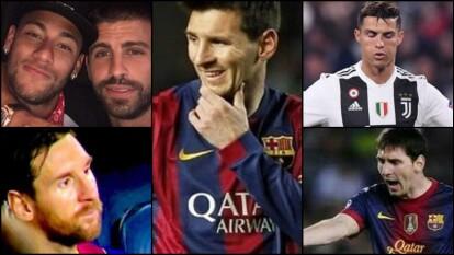 Los memes no perdonan la eliminación de Messi y CR7 de Champions | Ambos se convirtieron en el blanco de las burlas luego de que Juventus y Barcelona salieran de la justa europea.