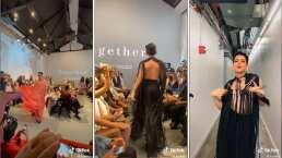 Kunno modeló en la New York Fashion Week y así fue su pasarela
