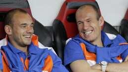 ¿Se reunirá con Robben? Sneijder planea volver a jugar en Eredivisie