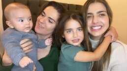 Hijos de Michelle Renaud y Zoraida Gómez tienen divertido encuentro que pinta para una larga amistad