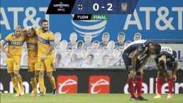 ¡Clásico Felino! Tigres derrota 0-2 a Monterrey