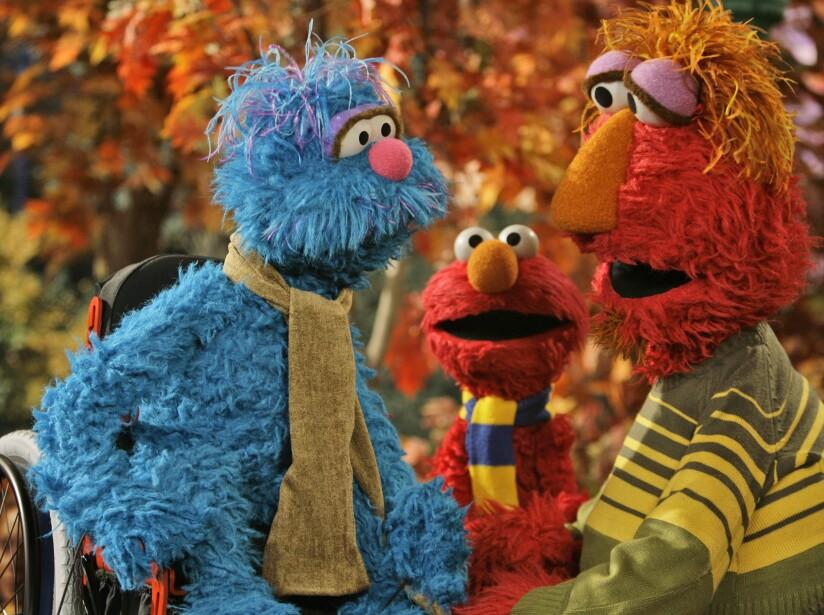 Elmo, Louie, Carlos