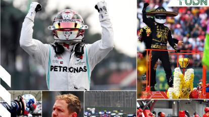 El británico Lewis Hamilton se llevó el Gran Premio de México, seguido de Sebastián Vettel y Valtteri Bottas.