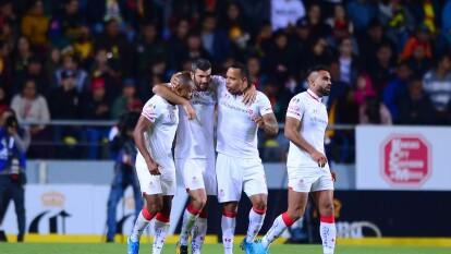 Con solitario gol de Emanuel Gigliotti, Toluca se queda con los tres puntos en su visita al Estadio Morelos.