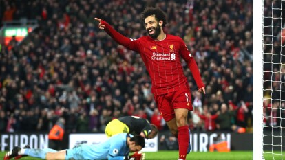 Liverpool 4-0 Southampton | Chamberlain (47'), Henderson (60') y Salah (71', 90') en dos ocasiones, fueron los verdugos del Southmapton.