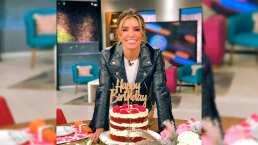 Andrea Escalona celebra su 'feliz no cumpleaños' en HOY