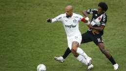Terrible lesión de Felipe Melo que acaba en fractura de tobillo