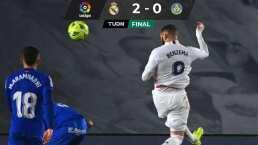 El golazo de Karim Benzema que encaminó la victoria de Real Madrid sobre Getafe