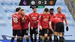 ¡Adiós a la racha! Manchester United le pega al Cit de Guardiola a domicilio