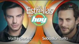 LAS ESTRELLAS DE HOY: Vadhir Derbez y Sebastián Zurita