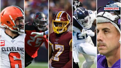 De estos jugadores no hay grandes expectativas para la Semana 5 en la NFL
