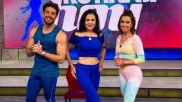 Lourdes Munguía hace su debut como instructora de ejercicio en el foro de 'Hoy'