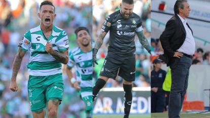 Santos vs Chivas. Apertura 2019