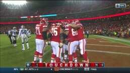 Los Chiefs no bajan las manos y anotan otro TD