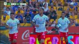 El Necaxa despertó con gol de Alvarado