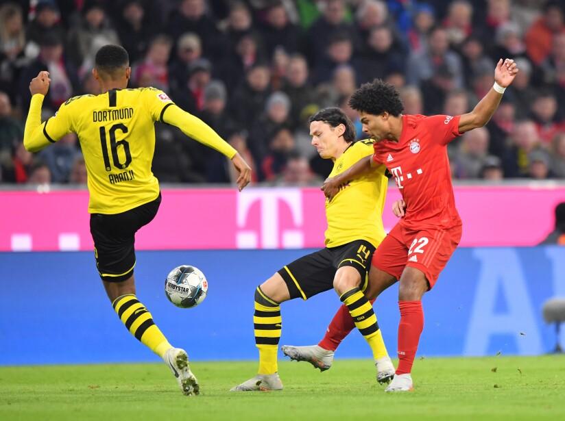 Por Bayern marcaron Lewandowski (17', 76') y Gnabry (47'). El autogol fue de Hummels (80').
