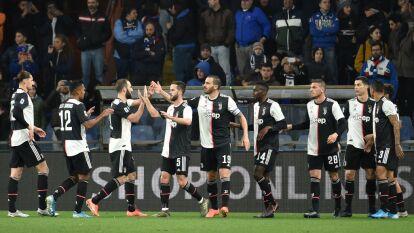 Con goles de Paulo Dybala y Cristiano Ronaldo, la Juventus se impone 1-2 en su visita a la Sampdoria.
