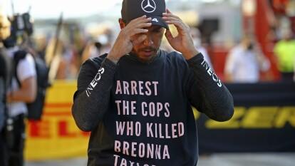 La lucha antiracista sigue para Lewis Hamilton