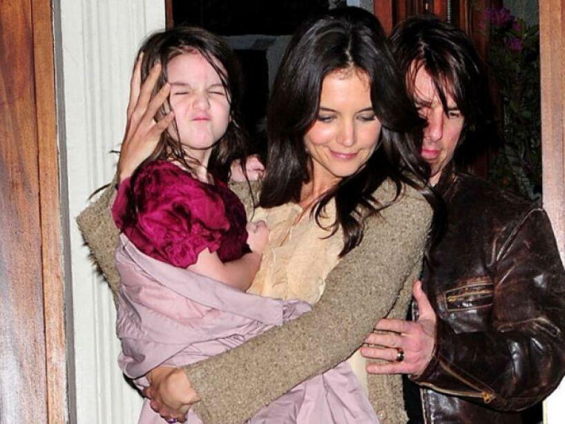 5. Katie Holmes: La ex de Tom Cruise procreó con el actor de Hollywood una linda princesa llamada Suri.