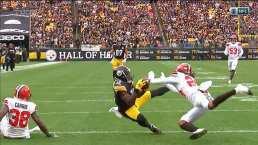 ¡Touchdown de Steelers para empatar el partido!